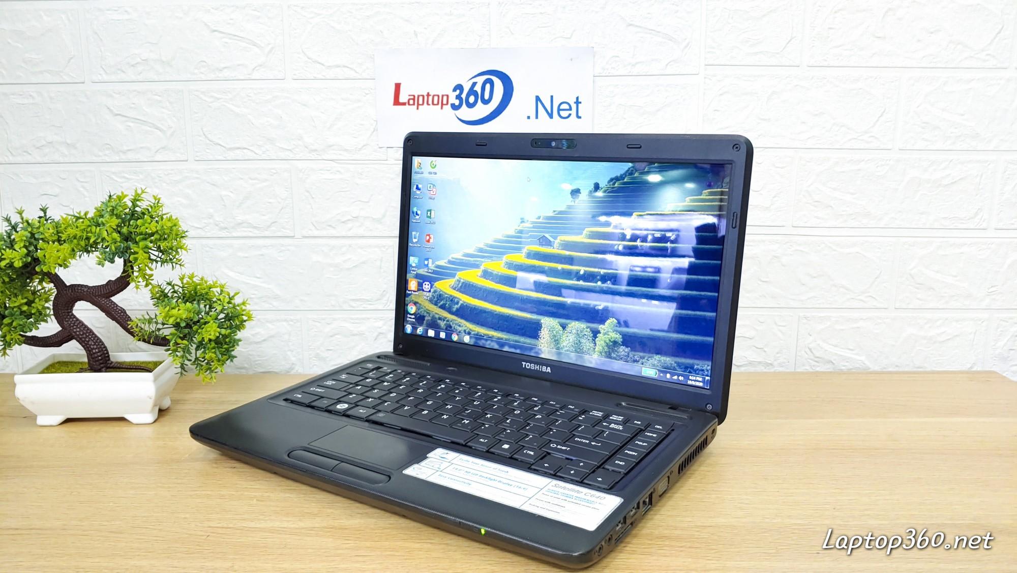 Laptop Toshiba C640