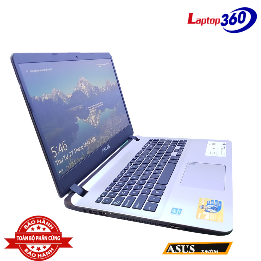 Asus X507 Laptop giá rẻ thiết kế hiện đại